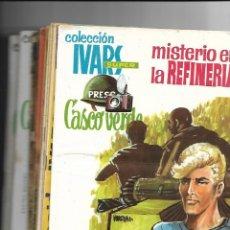 Tebeos: CASCO VERDE, AÑO 1965 COLECCIÓN COMPLETA SON 17 TEBEOS ORIGINALES IVARS PORTABELLA EDITOR. Lote 147968986