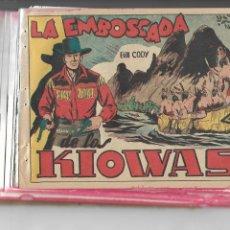 Tebeos: BILL CODY AÑO 1951 COLECCIÓN COMPLETA SON 16 TEBEOS Y SON ORIGINALES Y DIFICILES DIBUJANTE MARTINEZ. Lote 148002634