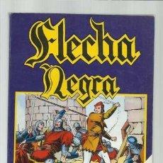 Tebeos: FLECHA NEGRA, 1980, COMPLETA, 12 NÚMEROS EN UN TOMO, URSUS, MUY BUEN ESTADO. Lote 148086642