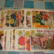 Tebeos: HISTORIA I LLEGENDA, 1956, COMPLETA, 28 NÚMEROS, HISPANO AMERICANA, MUY BUEN ESTADO. Lote 148420634