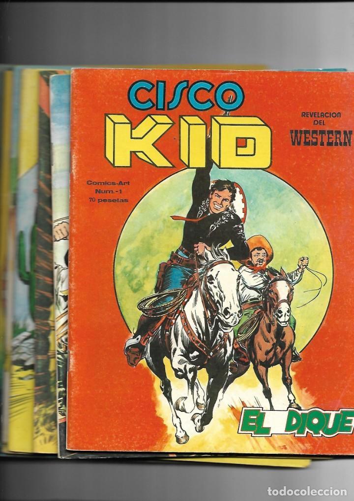 CISCO KID, REVELACIÓN DEL WESTERN AÑO 1979 COLECCIÓN COMPLETA SON 22 TEBEOS ORIGINALES MUY NUEVOS (Tebeos y Comics - Tebeos Colecciones y Lotes Avanzados)