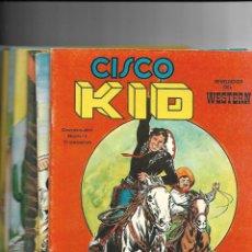 Tebeos: CISCO KID, REVELACIÓN DEL WESTERN AÑO 1979 COLECCIÓN COMPLETA SON 22 TEBEOS ORIGINALES MUY NUEVOS. Lote 148602602