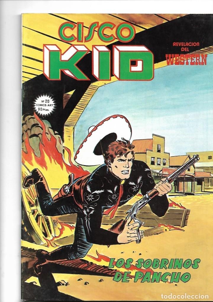 Tebeos: Cisco Kid, Revelación del Western Año 1979 Colección Completa son 22 Tebeos Originales muy nuevos - Foto 23 - 148602602