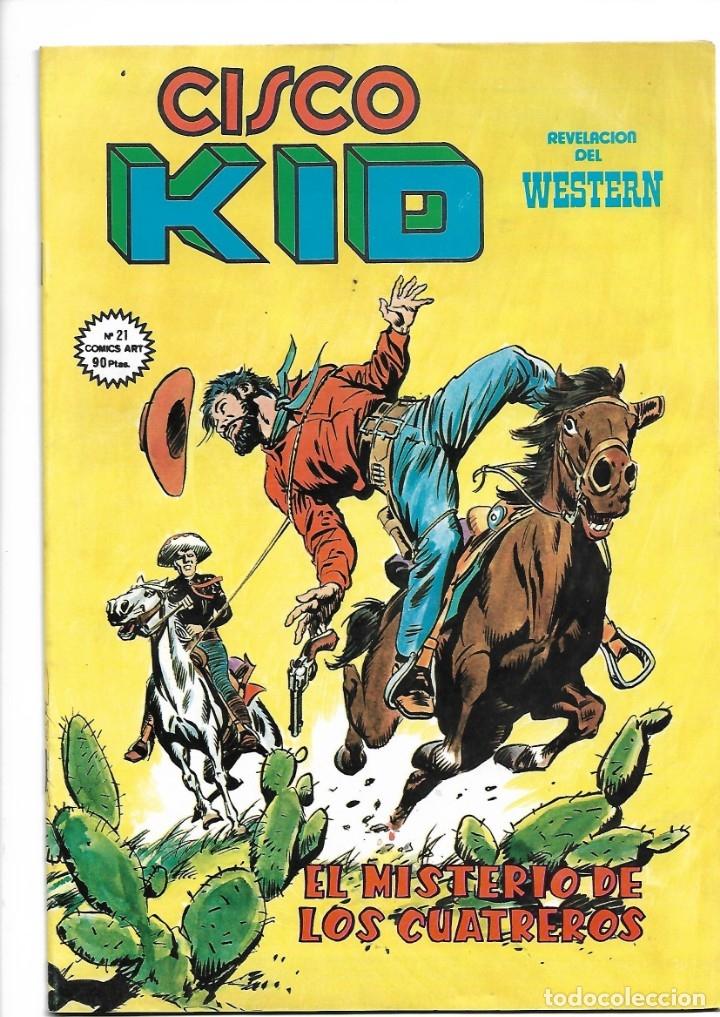 Tebeos: Cisco Kid, Revelación del Western Año 1979 Colección Completa son 22 Tebeos Originales muy nuevos - Foto 24 - 148602602