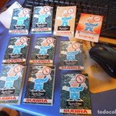 Tebeos: COLECCION UNICA 10 PEQUEÑOS COMICS PUBLICITARIOS ETIQUETAS PRENDAS SUBIRA EL URBANO RAMON. Lote 148642066