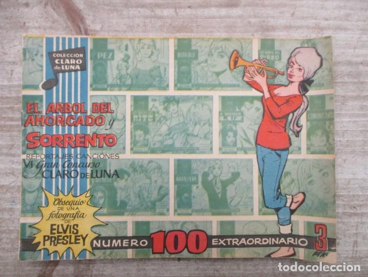 Tebeos: EXCEPCIONAL LOTE CLARO DE LUNA - 120 EJEMPLARES + 8 EXTRAS TAMBIÉN SUELTOS - Foto 10 - 148822838