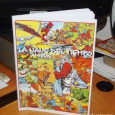 Tebeos: LA NAVE DEL TIEMPO EN FACSIMIL -- LIBRO CON LA COLECCION COMPLETA DE AMBROS DE 1955. Lote 147656034