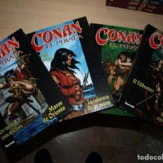 Tebeos: CONAN EL PIRATA - COMPLETA - CUATRO TOMOS - ROY TOMAS/JOHN BUSCEMA - FORUM. Lote 149693750