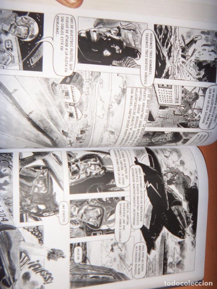 Tebeos: MALVINAS UN GRITO DE SOBERANIA, LIBRO/COMICS COMBATES, TERRESTRES , AERONAVALES EN COMICS - Foto 7 - 150848238