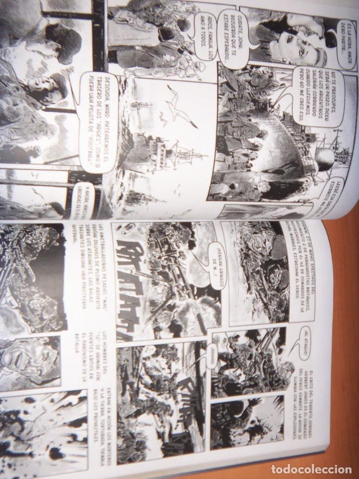 Tebeos: MALVINAS UN GRITO DE SOBERANIA, LIBRO/COMICS COMBATES, TERRESTRES , AERONAVALES EN COMICS - Foto 8 - 150848238