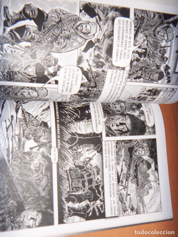 Tebeos: MALVINAS UN GRITO DE SOBERANIA, LIBRO/COMICS COMBATES, TERRESTRES , AERONAVALES EN COMICS - Foto 10 - 150848238