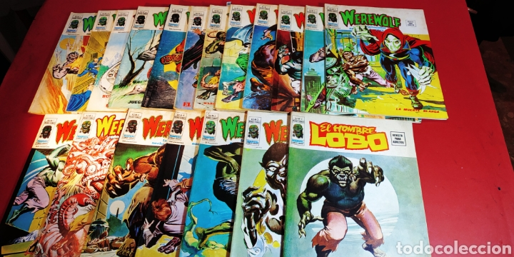 SUELTOS PREGUNTAR HOMBRE LOBO COMPLETA VERTICE WEREWOLF (Tebeos y Comics - Tebeos Colecciones y Lotes Avanzados)