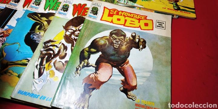 Tebeos: SUELTOS PREGUNTAR HOMBRE LOBO COMPLETA VERTICE WEREWOLF - Foto 3 - 220136841
