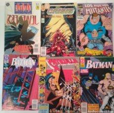 Tebeos: LOTE DE 9 COMICS BATMAN DE DC.MARVEL ,FORUM... Lote 151234765