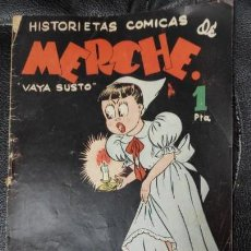 Tebeos: HISTORIETAS COMICAS DE MERCHE PARA NIÑAS VAYA SUSTO. Lote 151277662