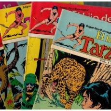Tebeos: EL HIJO DE TARZÁN VOL.1 -LOTE DE 4 NÚMEROS.-1,2,4 Y 7- HITPRESS,1980.MUY BUENOS.. Lote 151428246