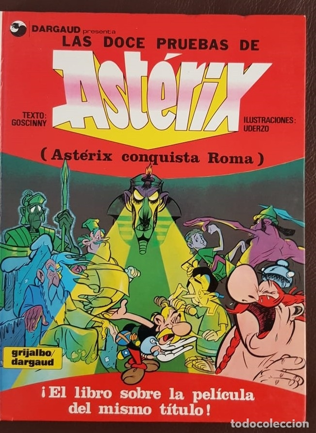 LAS DOCE PRUEBAS DE ASTERIX (1980) EXTRAORDINARIO S/N, COMIC DE LA PELÍCULA ANIMADA (Tebeos y Comics - Tebeos Colecciones y Lotes Avanzados)
