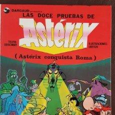 Tebeos: LAS DOCE PRUEBAS DE ASTERIX (1980) EXTRAORDINARIO S/N, COMIC DE LA PELÍCULA ANIMADA. Lote 151592774