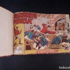 Tebeos: LOTE 159:COLECCIÓN COMPLETA ENCUADERNADA ORIGINAL SARGENTO FURIA! 36/36. Lote 151600814