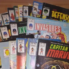 Tebeos: LOTE MARVEL MUNDI COMICS,INVASORES,CONAN,LA COSA,SPIDERMAN,VENGADORES. Lote 151904646