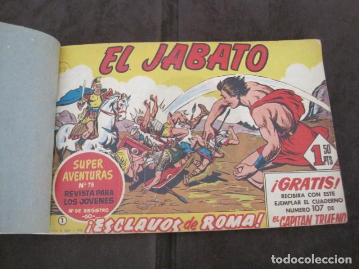 Tebeos: PRIMEROS 30 EJEMPLARES DE EL JABATO (VER DESCRIPCION) - Foto 4 - 152417166