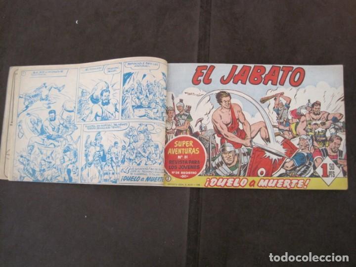 Tebeos: PRIMEROS 30 EJEMPLARES DE EL JABATO (VER DESCRIPCION) - Foto 6 - 152417166