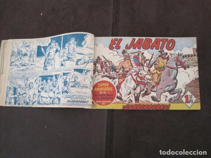 Tebeos: PRIMEROS 30 EJEMPLARES DE EL JABATO (VER DESCRIPCION) - Foto 7 - 152417166