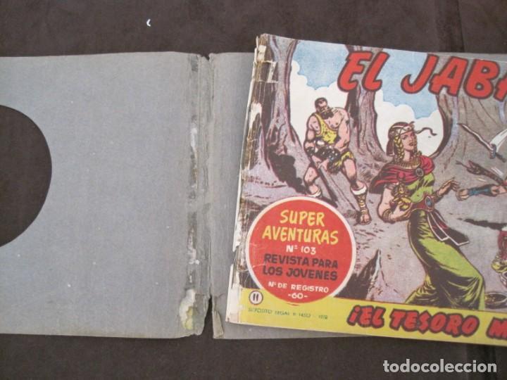 Tebeos: PRIMEROS 30 EJEMPLARES DE EL JABATO (VER DESCRIPCION) - Foto 13 - 152417166