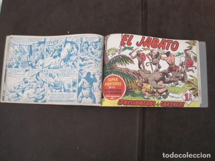 Tebeos: PRIMEROS 30 EJEMPLARES DE EL JABATO (VER DESCRIPCION) - Foto 16 - 152417166