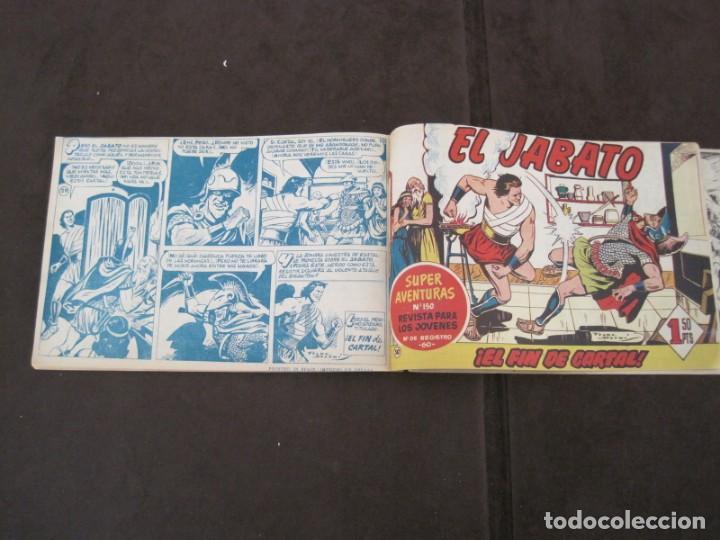 Tebeos: PRIMEROS 30 EJEMPLARES DE EL JABATO (VER DESCRIPCION) - Foto 26 - 152417166