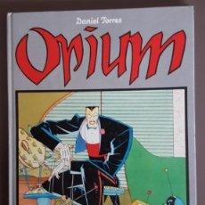 Tebeos: OPIUM, (DANIEL TORRES) TAPA DURA. LAS AVENTURAS DE CAIRO ,NORMA EDITORIAL. Lote 137889378