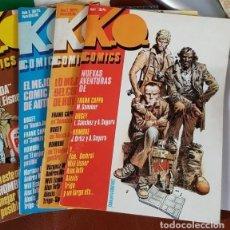 Tebeos: K.O. COMICS (1984) COMPLETA NºS 1,2,3 Y 4 EDITORIAL METROPOL - VER DESCRIPCIÓN. Lote 135942618