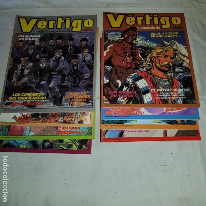 VERTIGO Nº1-2-4-5-6-7-8-9 PILOTE (Tebeos y Comics - Tebeos Pequeños Lotes de Conjunto)