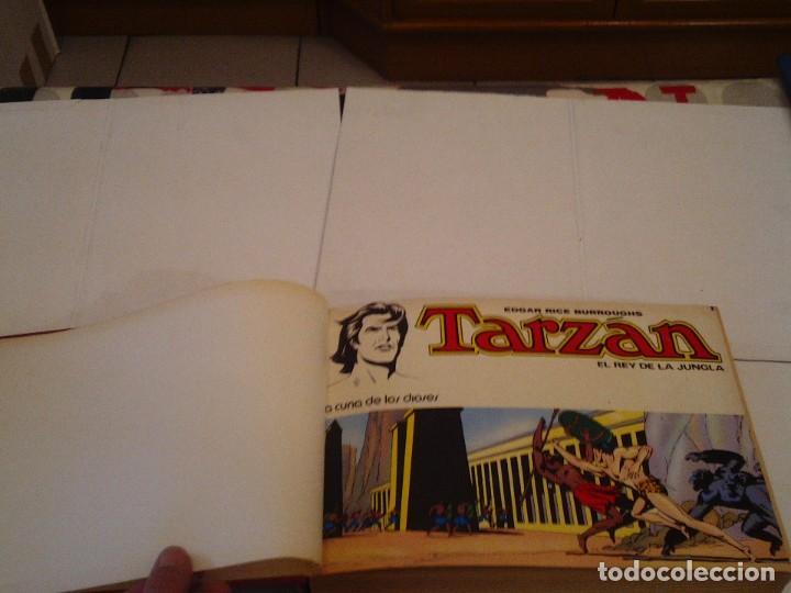 Tebeos: TARZAN EL REY DE LA JUNGLA - COLECCION COMPLETA - NOVARO 1976 - EDGAR RICE BURROUGHS - BUEN ESTADO - Foto 3 - 152608354