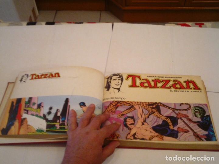 Tebeos: TARZAN EL REY DE LA JUNGLA - COLECCION COMPLETA - NOVARO 1976 - EDGAR RICE BURROUGHS - BUEN ESTADO - Foto 4 - 152608354