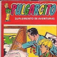 Tebeos: PULGARCITO. SUPLEMENTO DE AVENTURAS - SUPLEMENTO CÓMICO ( BRUGUERA ) 1955-1956 LOTE. Lote 153698490