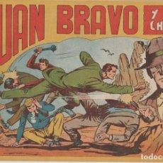 Tebeos: JUAN BRAVO Y SUS CHICOS (MAGA ) 1953 LOTE CASI COMPLETO. Lote 153700214