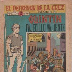Livros de Banda Desenhada: QUINTIN PAJECILLO VALIENTE ( MAGA ) 1965 1966 LOTE CASI COMPLETO. Lote 153805902