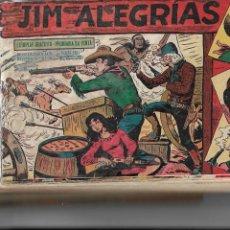 Tebeos: JIM ALEGRIAS, AÑO 1960 COLECCIÓN COMPLETA SON 69. TEBEOS ORIGINALES DIBUJANTE MANUEL GAGO.. Lote 154366598