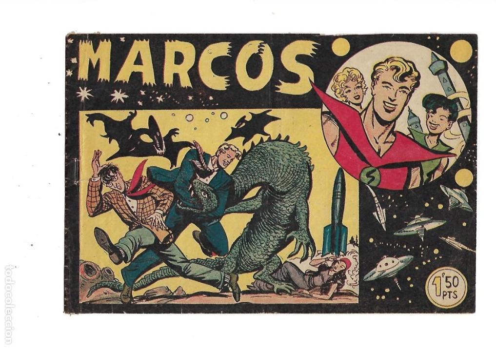 Tebeos: Marcos, Año 1958. Colección Completa son 30. Tebeos Originales Dibujante Manuel Gago. - Foto 2 - 154462038