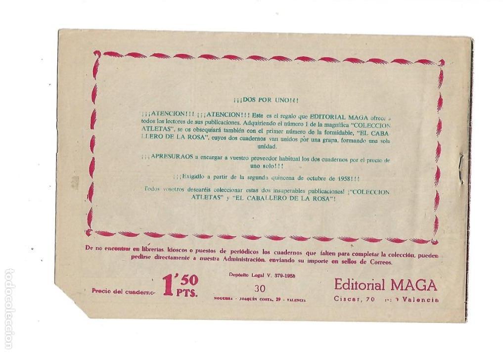 Tebeos: Marcos, Año 1958. Colección Completa son 30. Tebeos Originales Dibujante Manuel Gago. - Foto 5 - 154462038