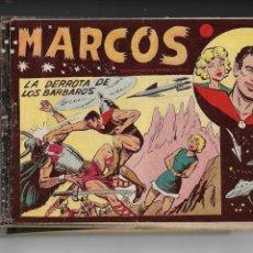 Tebeos: MARCOS, AÑO 1958. COLECCIÓN COMPLETA SON 30. TEBEOS ORIGINALES DIBUJANTE MANUEL GAGO.. Lote 154462038