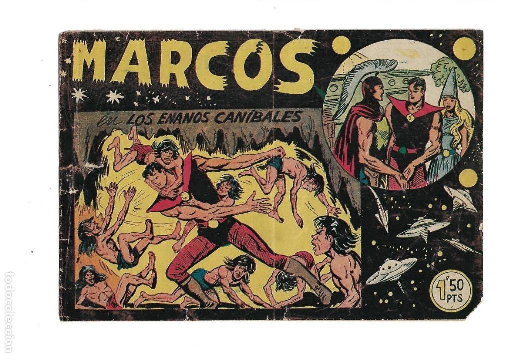 Tebeos: Marcos, Año 1958. Colección Completa son 30. Tebeos Originales Dibujante Manuel Gago. - Foto 6 - 154462038