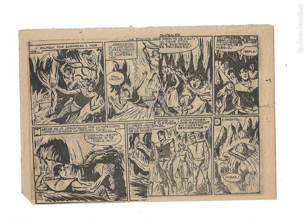 Tebeos: Marcos, Año 1958. Colección Completa son 30. Tebeos Originales Dibujante Manuel Gago. - Foto 8 - 154462038