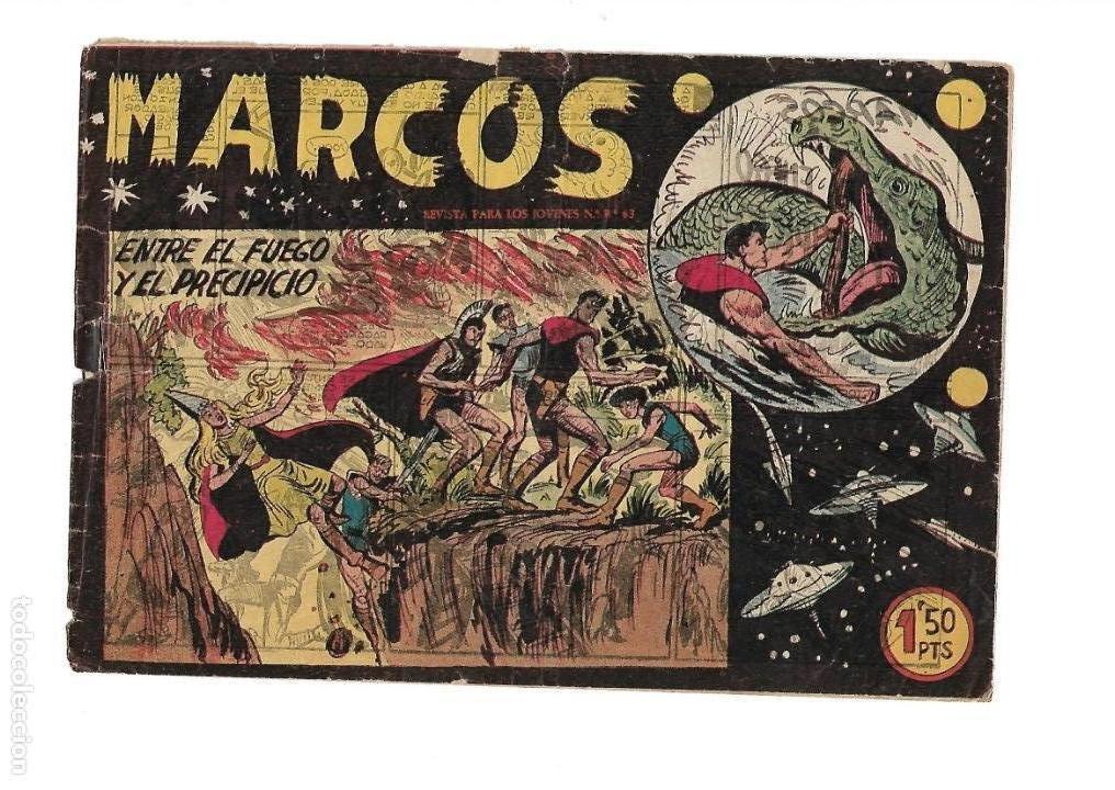 Tebeos: Marcos, Año 1958. Colección Completa son 30. Tebeos Originales Dibujante Manuel Gago. - Foto 10 - 154462038