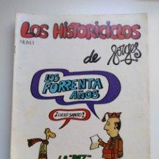 Tebeos: LOS HISTORICICLOS DE FORGES. Lote 153609892