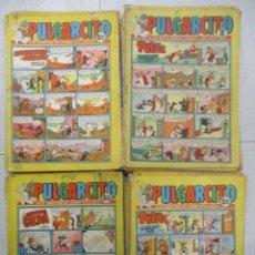 Tebeos: GRAN LOTE PULGARCITO - 68 EJEMPLARES - DEL Nº 1339 AL 1597 - CAPITAN TRUENO - BRUGUERA. Lote 155146890