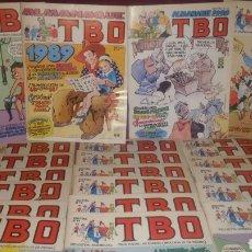 Tebeos: TBO EDICIONES B 22 PRIMEROS NUMEROS CONTIENE DOS ALMANAQUES 1989 Y 1990. Lote 155174985