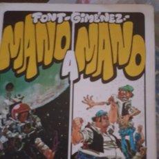 Tebeos: MANO A MANO (CARLOS GIMENEZ Y FONT) 1979. PAPEL VIVO Nº 6 - EDICC. DE LA TORRE . Lote 137436910