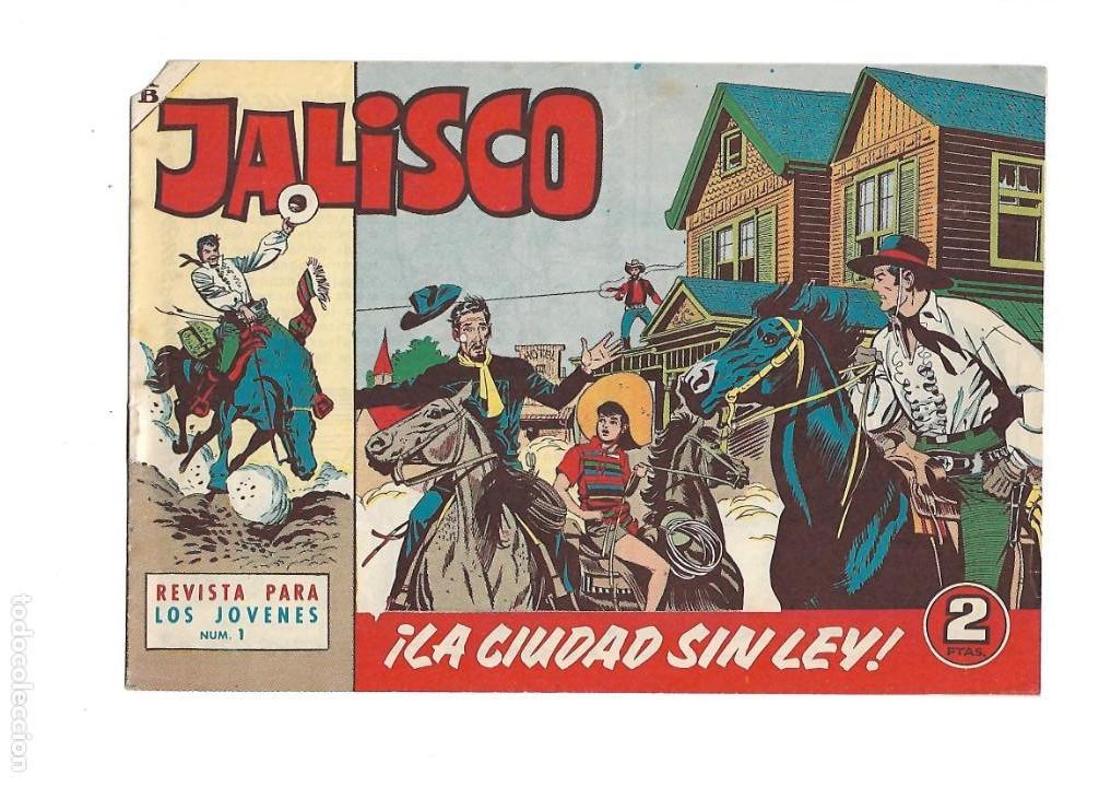 Tebeos: Jalisco, Año 1963. Colección Completa, son 20. Tebeos Originales Dibujos de José González. - Foto 2 - 155430006